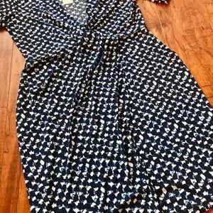 Banana Republic Dresses - NWT Printed asymmetrical wrap dress
